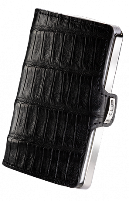 i-clip heritage titanium polished caiman black