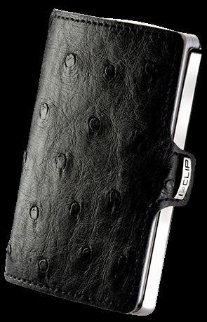 i-clip heritage titanium polished ostrich black